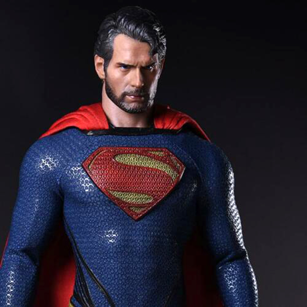 1 6 Scale Henry Cavill Head Sculpt Male Head Model Superman Vagabond Head Model in Action Toy Figures from Toys Hobbies