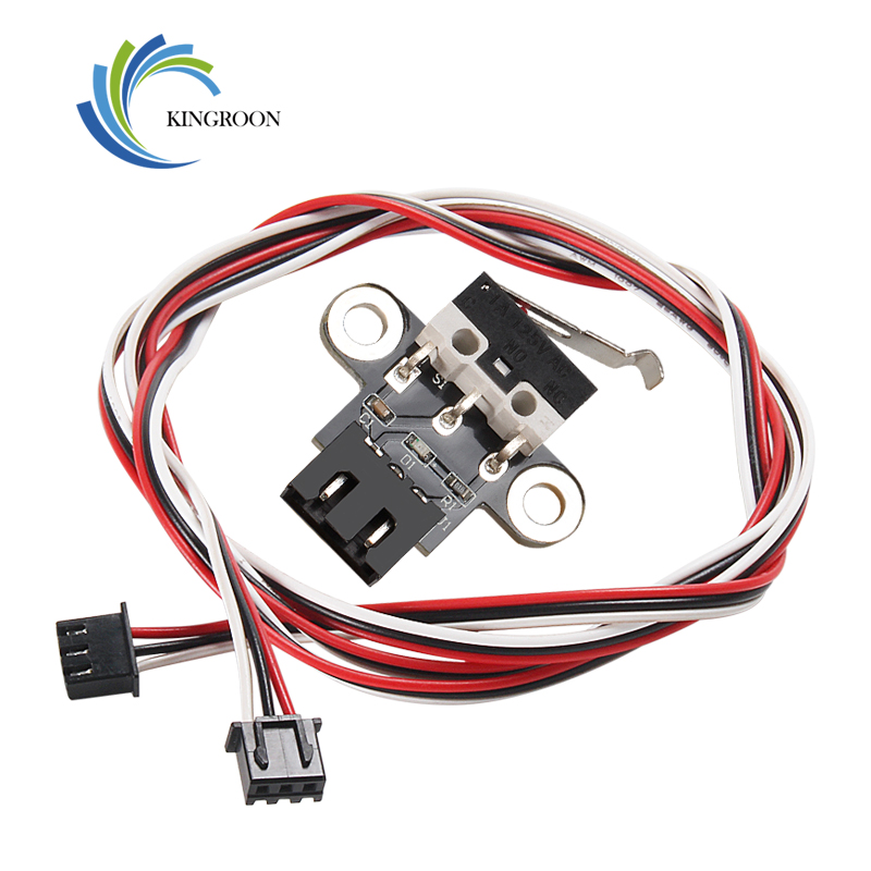 KINGROON 1PC Endstop Limit Mechanical End Stop Limit Switch With 1 Meter Cable For MKS Robin MotherBoard 3D Printer Parts 1