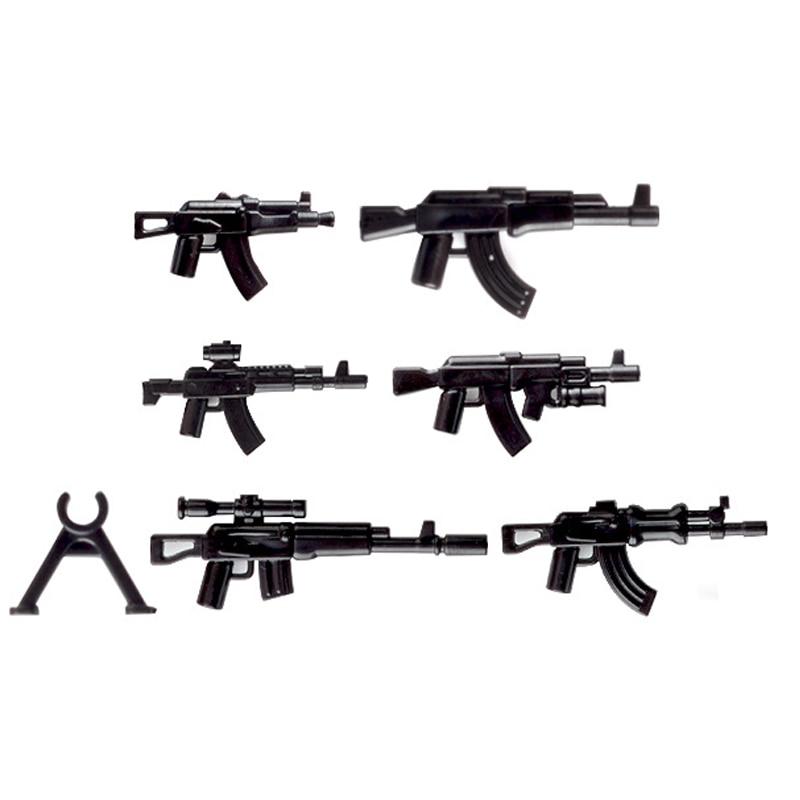 lego military weapons guns blocks 8