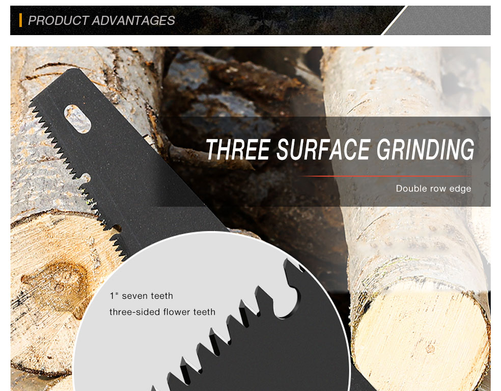 AI-ROAD handsaw three surface grinding