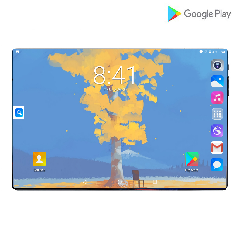 2019 New 10inch Tablet PC 4G FDD LTE Octa Core 6GB RAM 64GB ROM 1280x800 IPS 2.5D Tempered Glass 10.1 WIFI Android 9.0 Gifts