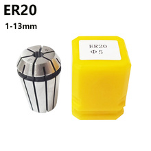 ER20 Chuck Accuracy: 0.015mm  Range 1-13 mm CNC machine tool spindle holder milling Milling Tool Fixture