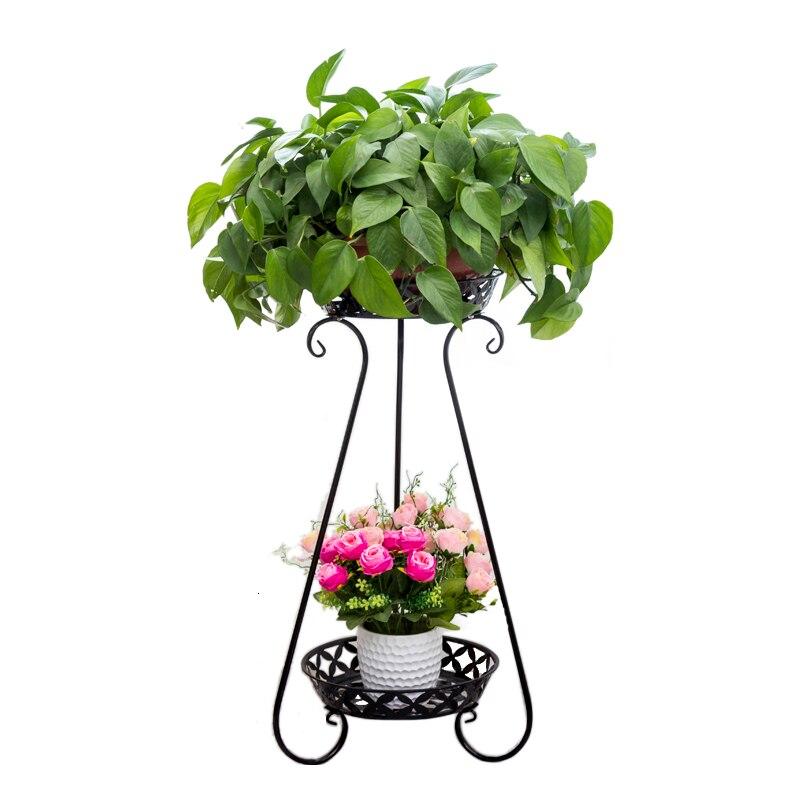 Art Flower Rack Multi-storey Landing Type Balcony Indoor A Living Room Flower Airs Green Luo Chlorophytum Flowerpot Shelves