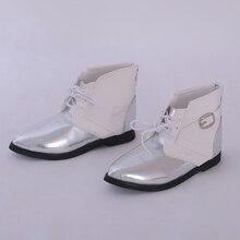 Ayakkabı bebek BJD kahverengi PU deri moda Mini oyuncak erkek erkek ayakkabıları 1/3 bebek için IP Hid ID72 bebek aksesuarları luodoll