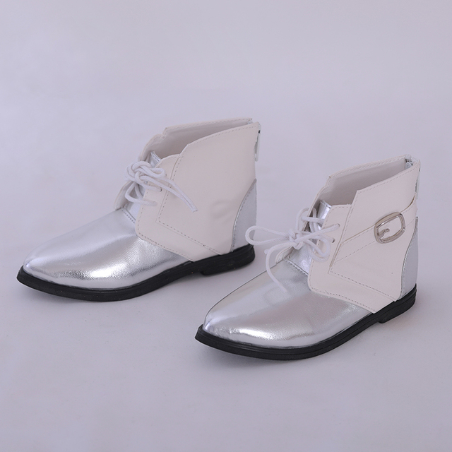 Shoes For Doll BJD  Brown PU Leather Fashion Mini Toy Boys Man Shoes 1/3 Doll for IP Hid ID72 Doll Accessories  luodoll
