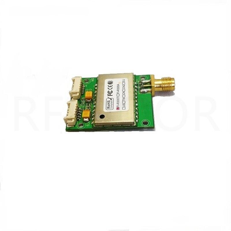 UHF Радиочастотная Идентификация RFID последовательный порт длинный дистанционный считыватель Модуль UART макетная плата головка SMA 0,5 W