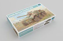 Trumpeter 09516 1/35 South African Rooikat AFV Armored Vehicle Car Military Display Toy Plastic Assembly Building Model Kit комплект инструментов sata 58 09516