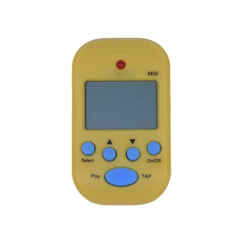 Mini metrónomo Digital electrónico profesional M50 con sintonizador Digital amarillo de Clip para Piano de guitarra