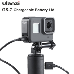Image 2 - Ulanzi G8 7 Gopro 8 배터리 커버 분리형 배터리 뚜껑 Type C Gopro Hero 8 용 충전 포트