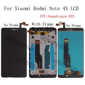 Image 1 - 5.5 Inch Aaa Kwaliteit Voor Xiaomi Redmi Note 4X Lcd Touch Screen Voor Redmi Note 4 Global Versie alleen Voor Snapdragon 625
