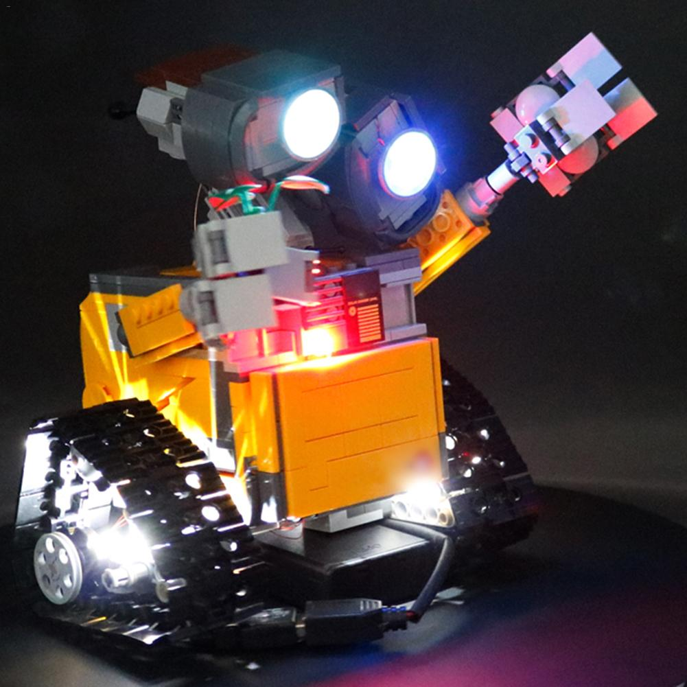 LED Light Set For Ideas Wall E Building Blocks Kit Compatible With <font><b>LEGO</b></font> <font><b>21303</b></font> image