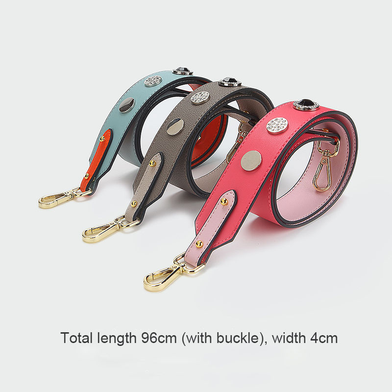 Women Shoulder Bag Strap Leather Wide Straps For Bag Strap Replacement Crossbody Bag Belt Strap Bag Parts Accessories