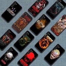 Kreators thrash meta band caso de telefone para xiaomi redmi nota 7 8t 9s 4x 7 7a 9a k30 pro ultra preto hoesjes luxo volta tendência