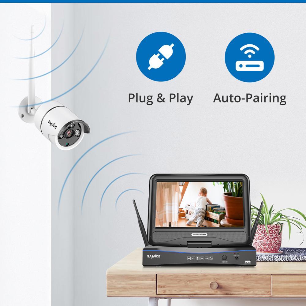 SANNCE 8 καναλιών Wifi 1080P IP κάμερα NVR - Ασφάλεια και προστασία - Φωτογραφία 4