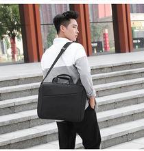 Портфель для мужчин и женщин кожаный деловой боковой портфель