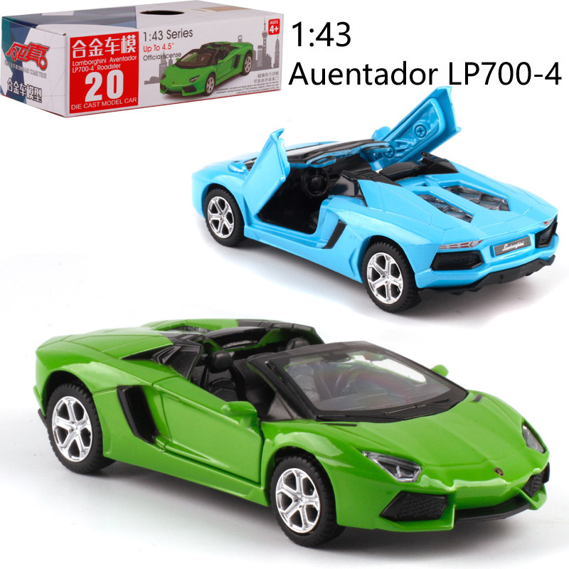 CAIPO 1:43 LP700-4 Alloy Pull-back Vehicle Model Diecast Metal Model Car Model Toy For Boy Toy Collection Friend Children Gift