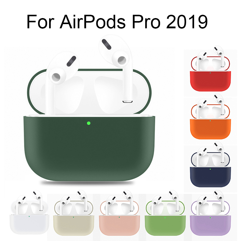 Ultra Thin Silicone Case For AirPods Pro 3 Charging Case Protect Cover For AirPods Shockproof Coque Air Pods Pro Accessories