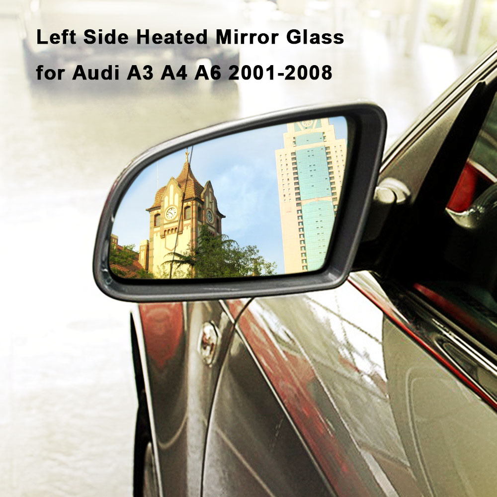 Side Mirror Cover Painted LEFT Fits AUDI A3 Sportback A4 Avant A5 A6 A8 2002
