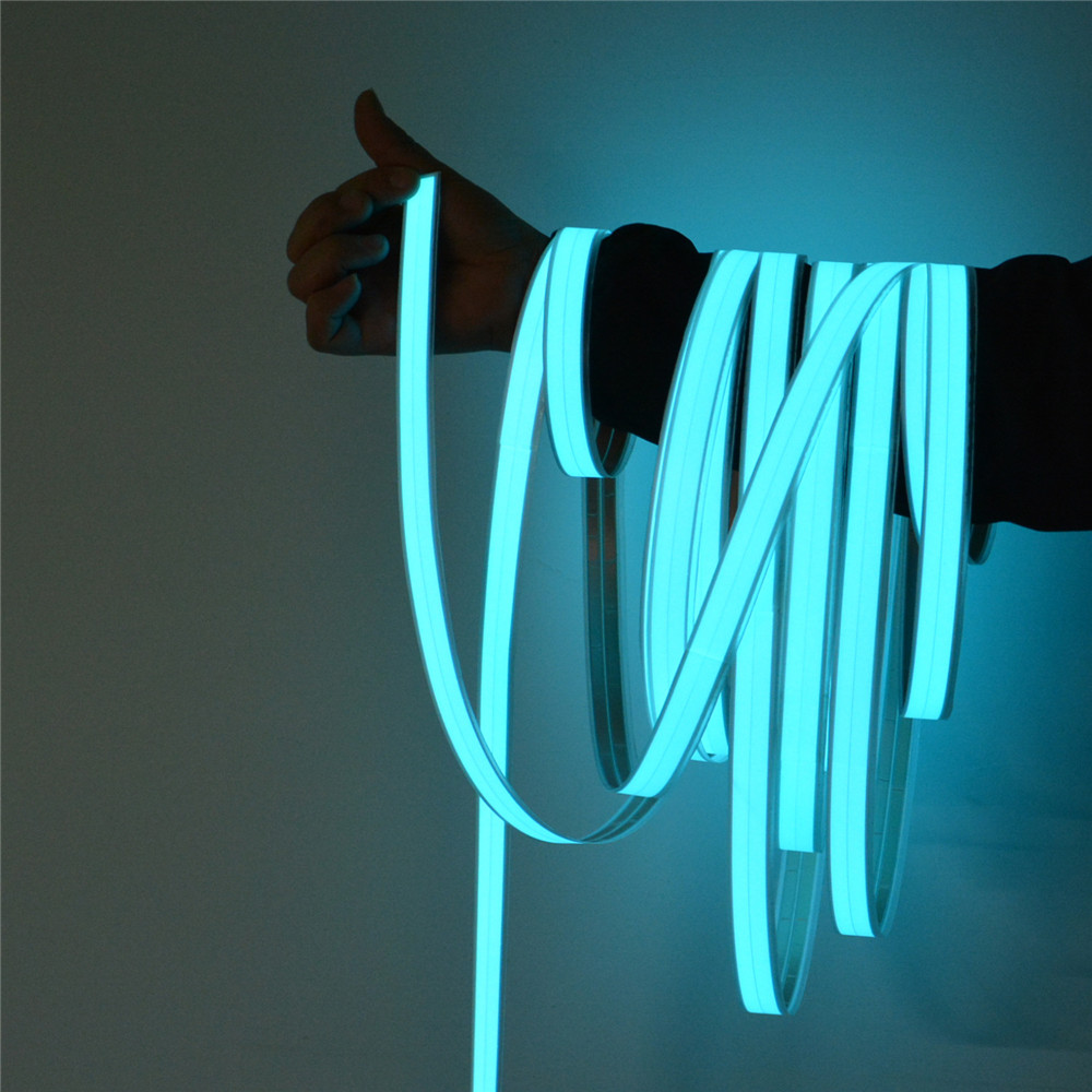 EL Strips Car LED Strip Light For DIY AD LOGO Flexible Neon Lights Glow Rope Party Decoration Tape Lamp USB 12V Backlight Panel
