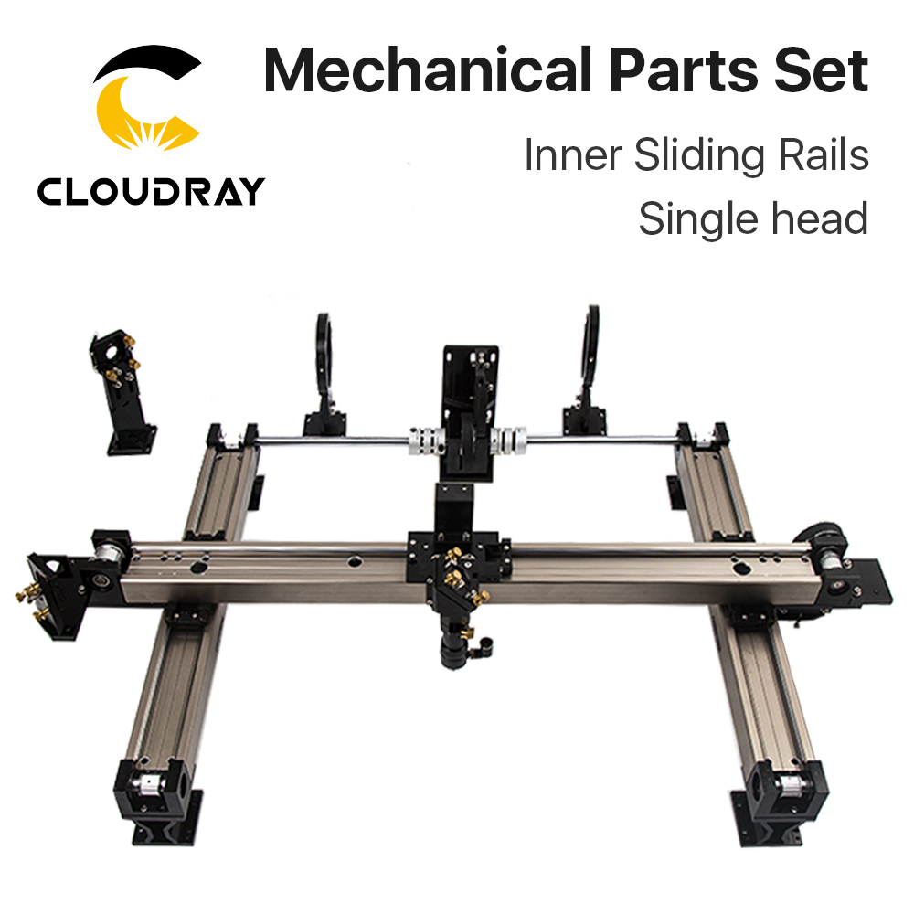 Cloudray Mechanical Parts Set 1300*900mm Inner Sliding Rails Kits Spare Parts For DIY 1390 CO2 Laser Engraving Cutting Machine