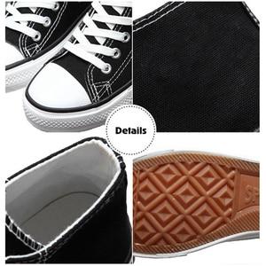Image 4 - Stranger Things 3 Eleven Dustin zapatos de lona para Cosplay, Zapatillas altas informales transpirables planas para parejas, para niñas y niños