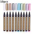 Цветная ручка для скрапбукинга, ручка для творчества, домашний маркер, ручка из АБС, школьные принадлежности, маркер для рисования, Толстая ...