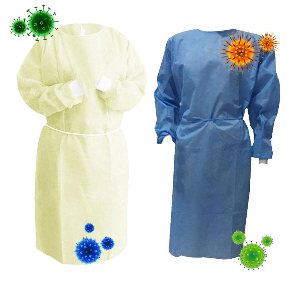 Disposable Anti-dust Clothing Gown Safety Coverall Protection Isolation Suit White Coverall Hazmat Suit Protection Protective