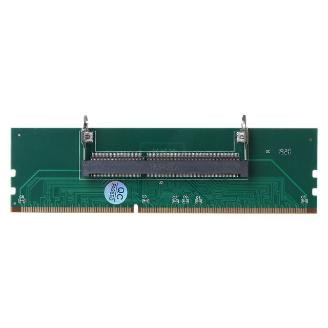 2021 New DDR3 SO DIMM to Desktop Adapter DIMM Connector Memory Adapter Card 240 to 204P Desktop Computer Component Accessories