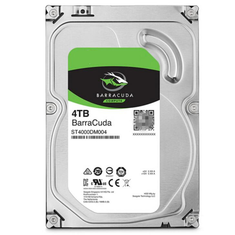"""New HDD For Seagate Brand BarraCuda 4TB 3.5"""" SATA 6 Gb/s 256MB 5400RPM For Internal Hard Disk For Monitoring HDD For ST4000DM004 6"""