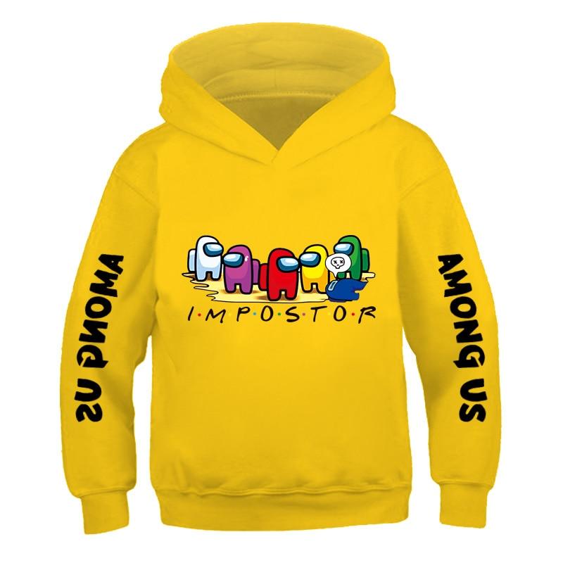 New Among Us Boys Hoodie Kids Clothes Funny Game Among Us Hoodies for Teen Girls 3-14Y Baby Boys Sweatshirt Children Costume 1