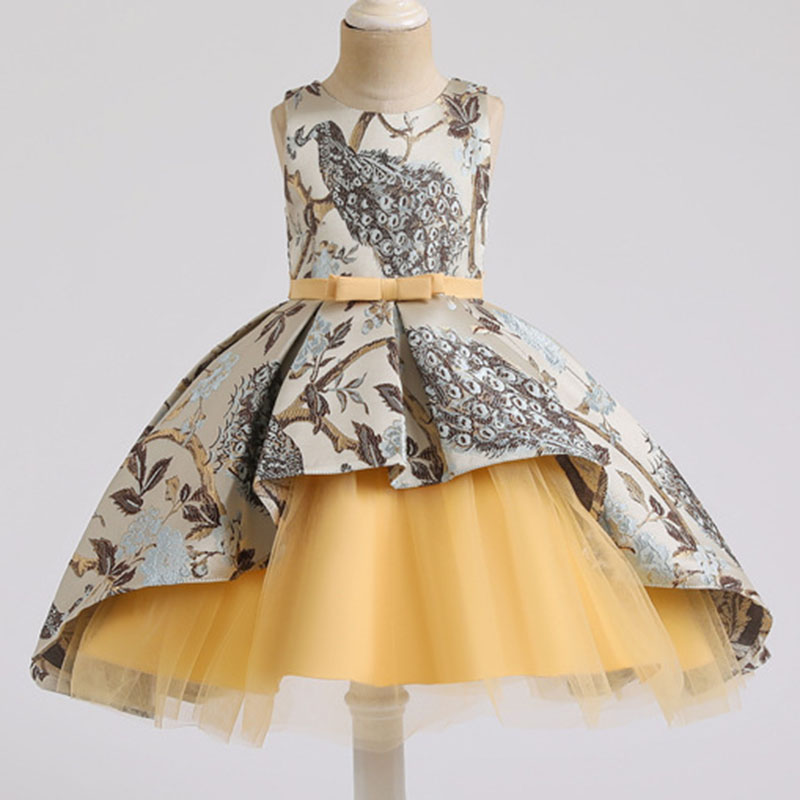 2019 Christmas Formal Elegant Dress For Girl Princess Dress Costume Kids Dresses Girls Children Lace Party Dress Vestido