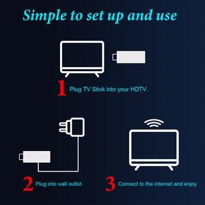 Image 5 - Mini Android Tv Stick Box TV Android 10 4K Android Tv, pudełko inteligentna przystawka wi fi do telewizora Tv, pudełko odtwarzacz multimedialny odbiornik Tv dekoder Android 10