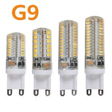 G9 LED Lamp 7W 9W 10W 12W Corn Bulb AC 220V SMD 2835 3014 48 64 96 104Leds Lampada LED light 360 degrees Replace Halogen Lamp