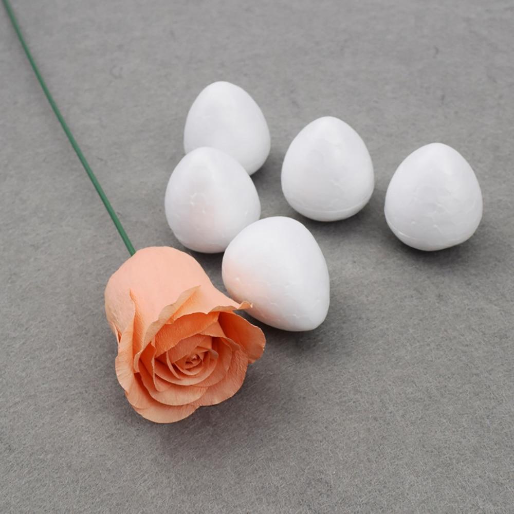 Foam Rose Bud For Nylon Stocking Flower Arrangement Floral DIY Material 80mm