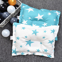 Baby Pillow Cushion Sleep-Support Newborn Infant Cartoon Concave Prevent-Flat-Head Printed