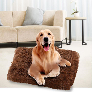 Plush Dog Bed Mat Double Layer