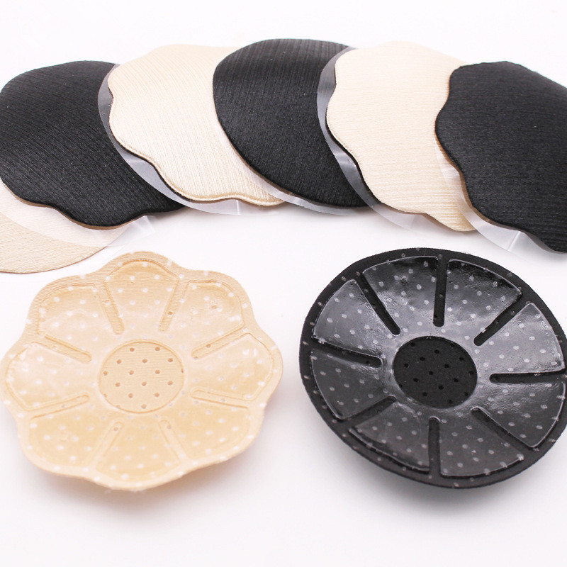 1Pair New Drawing Reusable Self-Adhesive Silicone Breast Nipple Cover Bra Pasties Pad Women Silicone Chest Petal Mat Accessories