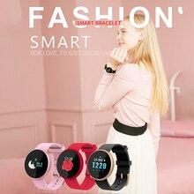B36 B36M B36S Colorful Touch Smart Bracelet Band Watch Blood Pressure Heart Rate Monitor IP68 Waterproof Swim Fitness Tracker