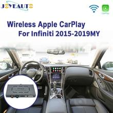 Joyeauto kablosuz Apple Carplay infiniti 8 inç ekran 2015 2019 Q50 Q60 Q50L QX50 Android otomatik ayna Wifi araba oyun Airplay