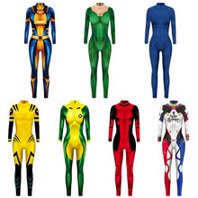 VIP mode film chaud héros Mystique Anime Aquaman femme Mera Optimus bourdon Cosplay Deadpool Sexy Costume pour adulte(China)