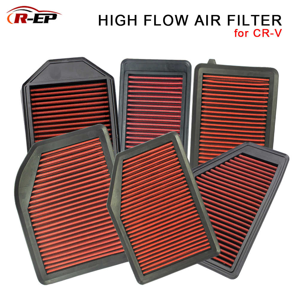 R-EP High-Flow Luchtfilter Past voor Honda CRV 2013 2019 CR-V 2007-2011 2.0L 2.4L 1.5T wasbare Herbruikbare Vervanging Luchtinlaat