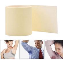 1 Roll Disposable Armpit Prevent Sweat Pads Transparent Underarm Dry Dry Antiperspirant
