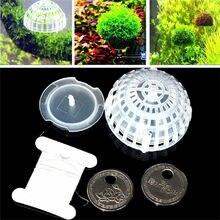 Hi-Q 5cm Aquarium Fish Tank Media Moss Ball Live Plant Filter Filtration Decor цена и фото