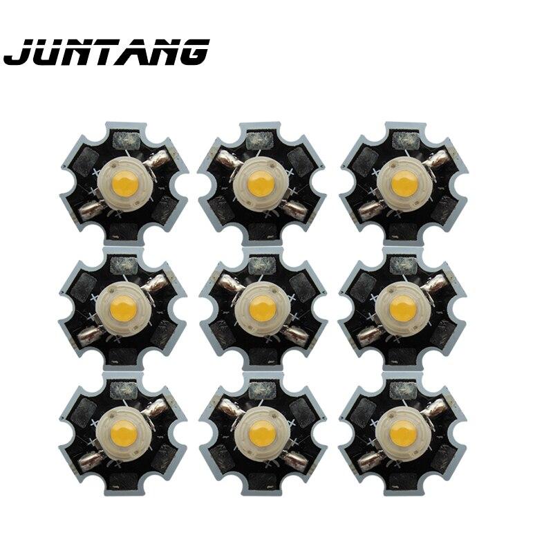 High-power Led Genuine USA Bridgelux Chips Lamp Beads 3W Led 45MIL Chip Diameter 20mm Aluminum Substrate 10pcs