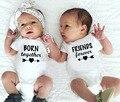 1 шт. родился вместе и друзья навсегда детские летние шорты с длинным рукавом боди близнецов Детские боди для новорожденных, детей ясельного...