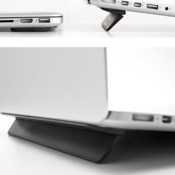 Laptop Stand Universal Desktop Laptop Holder With Adhensive Portable Cooling Pad Notebook Stand For Macbook Air
