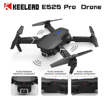 Camera Drone KEELEAD Rc Quadcopter Profissional-Obstacle Mini E525 Fixed-Height VS Avoidance