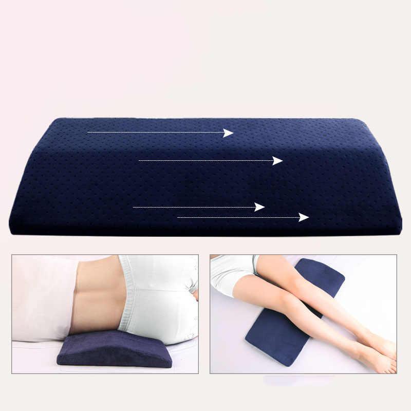מותניים כרית בהריון אישה שינה מיטת Tournure זיכרון כותנה מותניים כרית למבוגרים המותני מגן כרית עמוד השדרה המותני כרית p187