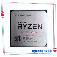 AMD Ryzen 3 1200 R3 1200 Quad Core de 3,1 GHz Quad-Hilo de procesador de CPU YD1200BBM4KAE hembra AM4 sin ventilador