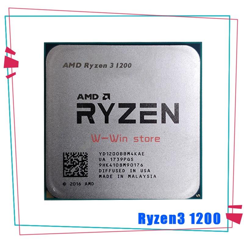 Четырехъядерный процессор AMD Ryzen 3 1200 R3 1200 3,1 ГГц четырехъядерный процессор YD1200BBM4KAE Socket AM4 Процессоры      АлиЭкспресс